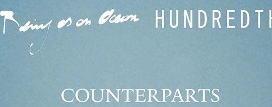 Being As An Ocean, Hundredth, & Counterparts to Tour Europe