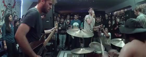 Here's Some Killer Footage of Caravels Playing Topshelf Records' CMJ Party