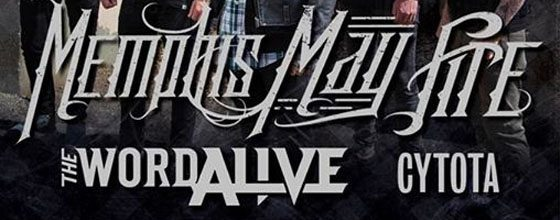 The Word Alive Tapped for Memphis May Fire's UK Tour