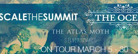 Scale the Summit, The Ocean, The Atlas Moth, & Silver Snakes Announce Tour