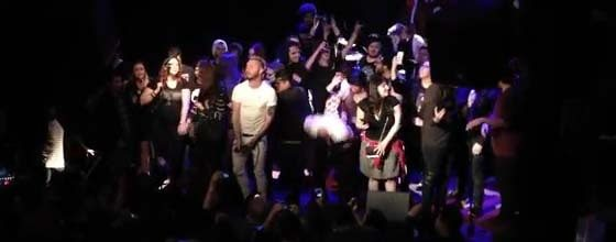 Watch Footage of FROM FIRST TO LAST Performing with PERIPHERY's Singer in Hollywood
