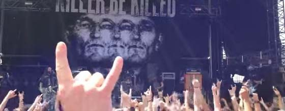 Watch KILLER BE KILLED Take the Stage for the First Time