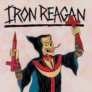 iron reagan crossover ministry album art