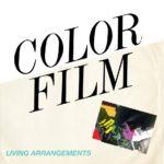 color film living arrangements album artwork